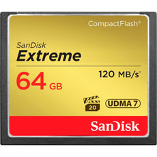 Extreme 120MB/s Compact Flash 64GB
