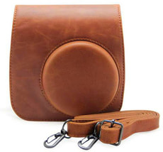 Instax Mini 8 Leather Case Brown