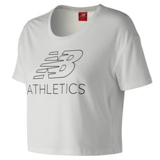 Women Athletics Cropped Tee