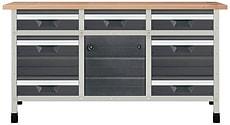 Werkbank No. 3 1610 x 650 x 860 mm 8077