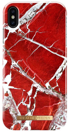 Hard Cover Scarlet Red Marble