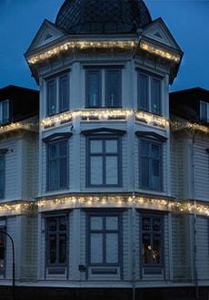 LED Lichtervorhang 3 x 0.4 m