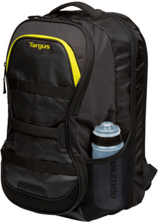 Fitness Backpack noir / jaune
