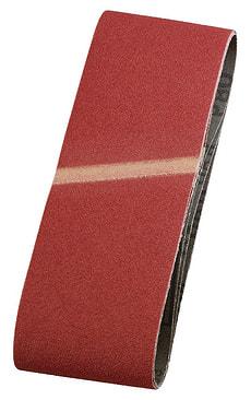 Schleifbänder, Edelkorund, 75 x 457 mm, K120