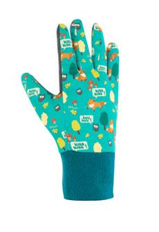 FOXY gant de jardin enfant bleu