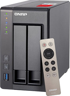 NAS TS-251+-2G 2Bay sans Harddisk Logement vide
