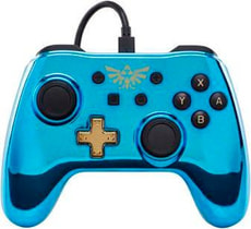 Chrome Controller Blue Zelda
