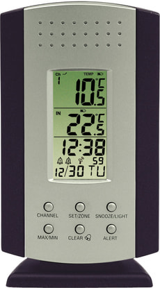 CLIMATE Thermomètre sans fil 0787