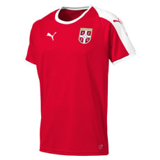 SERBIA Home Shirt SS Replica JR