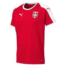 SERBIA Home Shirt SS Replica JR