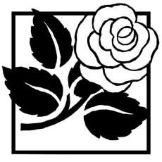Reliefeinlagen Rosen