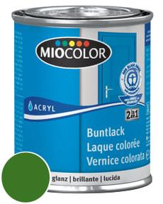 Acryl Buntlack glanz Laubgrün 125 ml