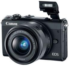 EOS M100 15-45mm schwarz