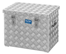 box en aluminium R70 Alu tôle gaufrée 3mm