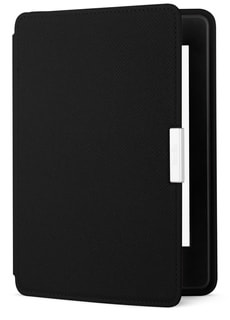 Cover Étui en cuir pour eReader Kindle Paperwhite, noir (5ème + 6ème génération)