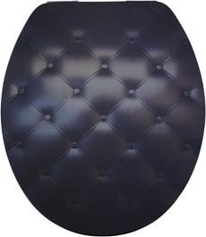 Sedile per WC Lyon Slow-Motion Black sofa