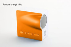 L- TELEFUNKEN SOUNDMOBILE XS ORANGE