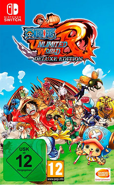 Switch - One Piece: Ultimate World Red - Deluxe Editon