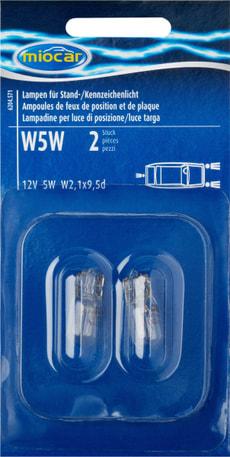 Ampoule W5W, feu de position
