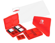 Nintendo Switch Protection Pack rouge - NSW