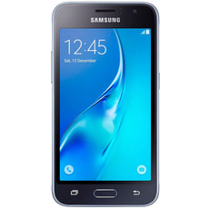 Galaxy J1 (2016) Single Sim schwarz