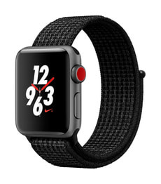 Watch Series 3 Nike+ GPS/LTE 38mm spacegray/platinum