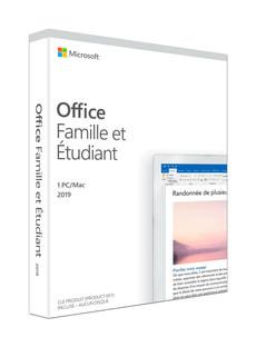 Office Famille et Étudiant 2019 PC/Mac (F)