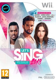 Wii - Let's Sing 2018 Hits français et internationaux F