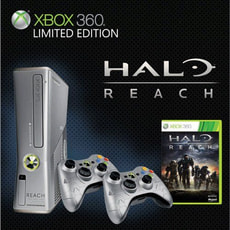 Xbox 360 Konsole 250 GB Bundle Fable 3 und Halo Reach