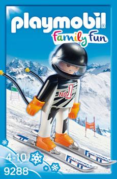 Playmobil Family Fun Skieur alpin 9288