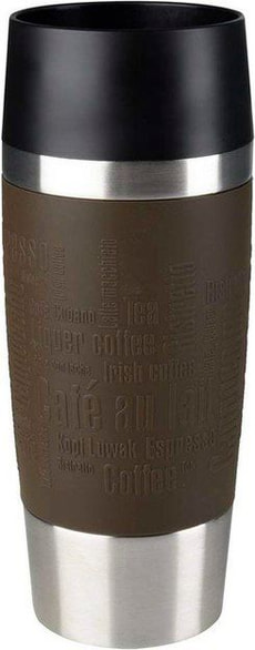 Travel Mug 0.36 l, Silber Braun