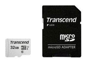 microSD Card 300S, 32GB SDHC inkl. Adattatore