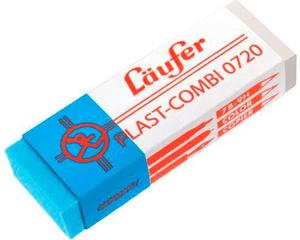 Plast-Combi Gomme 65x21x12mm 0720 avec étui de prot. carton