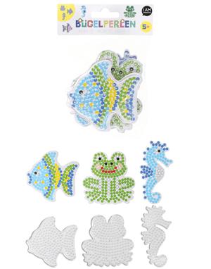 Stiftplatten, Seepferd, Frosch, Fisch