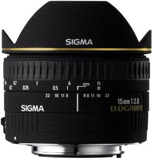 15mm/2.8 EX DG Diagonal Fisheye Nikon
