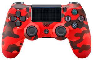 PS4 Dualshock Red Camouflage V2.0