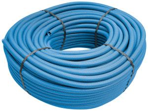 Unoflex tube rainuré fer M20, 10 m