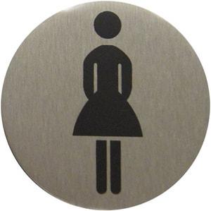 Plaque WC femmes