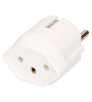 Fix-Adapter Schuko/T13