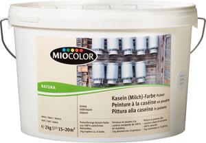 Kasein Milch Farbe Pulver  Weiss 3 l