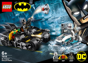 LEGO HEROES 76118 Mr. Freeze™ contre l