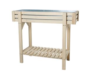 Jardinière surélevée en bois de pin FSC®