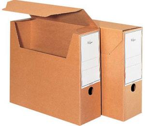 Boîte d'archives Snap A4 660745 brun