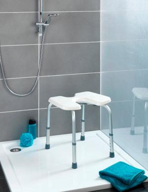 Hygienehocker Secura höhenverstellbar