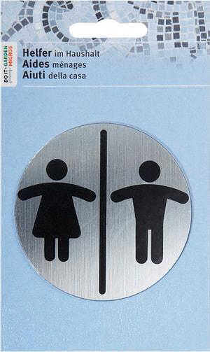 Plaque. porte homme + femme