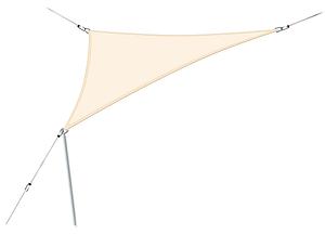 Dreieckig 360 x 360 cm