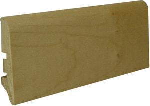 Battiscopa impiallacciato in vero legno di acero #40