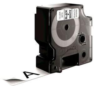 Schriftband D1 schwarz/weiss 24mm/7m