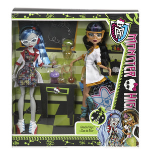 W13 MONSTER HIGH MONSTERSCHUELER 2ER P.