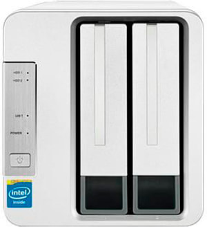 TerraMaster F2-220-2GB - sans disque dur